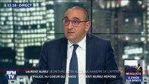 """Laurent Nunez: """"Le LBD on l'utilise dans les situations d'émeutes et de violences urbaines, pas en maintien de l'ordre"""