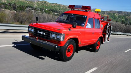 1989 Land Cruiser Fire Truck