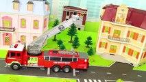 Camion de pompiers, de Pelle, de Train, des Tracteurs, des Voitures de Police Et des Camions à Ordures RC Véhicules-Jouets pour les Enfants | Gertie S. Bresa