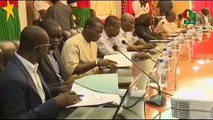 RTB - Le comité de pilotage de la TNT en séance de travail avec le Premier Ministre du Burkina Faso