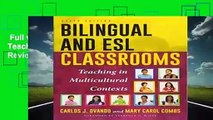 Full version  Bilingual and ESL Classrooms: Teaching in Multicultural Contexts  Review