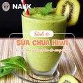 Cách làm sinh tố sữa chua kiwi đẹp da- Nấu Ăn Không Khó
