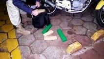 PRF apreende 7,5 quilos de maconha em Cascavel