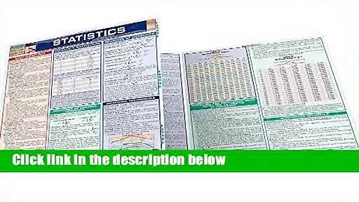 Statistics (Quickstudy: Academic)