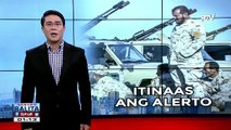 Alert level 3, itinaas na sa Tripoli; Voluntary repatriation, ipinatupad