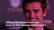 Antoine Griezmann : il dévoile un adorable cliché et le prénom de son deuxième enfant !