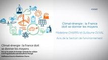 Climat-Énergie : la France doit se donner les moyens - Avis sur les projets de SNBC et de PPE - cese