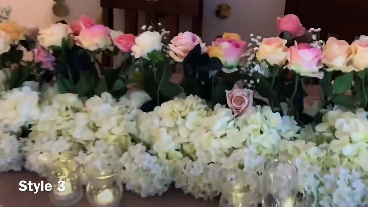 DIY- wedding table decor DIY – bling decor DIY floral decor DIY – long table decor Part 2