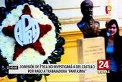 Comisión de Ética no investigará a Del Castillo por pago a trabajadora 'fantasma'
