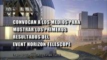 Agujeros Negros: Convocan a los medios para mostrar los primeros resultados del Event Horizon Telescope