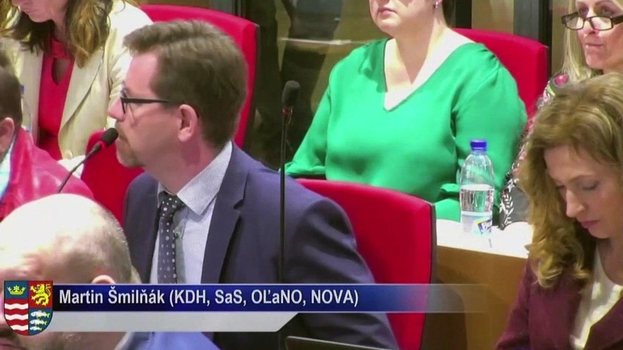 PREŠOV-PSK 12: Záznam zasadnutia Zastupiteľstva Prešovského samosprávneho kraja (PSK)