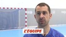 Guigou juge «énorme» la marge de progression des Bleus - Handball - Euro 2020 (Q) - Bleus