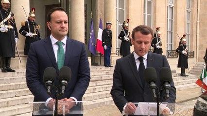 Déclaration avec Leo Varadkar, Premier ministre d'Irlande