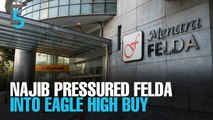 EVENING 5: Najib leaned on Felda to buy Eagle High