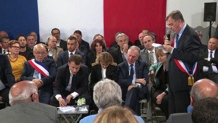 Grand Débat avec les maires de Corse