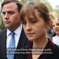 'Smallville' actress Allison Mack pleads guilty in sex cult case