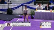 La gymnaste Samantha Cerio se casse les deux jambes pendant une compétition