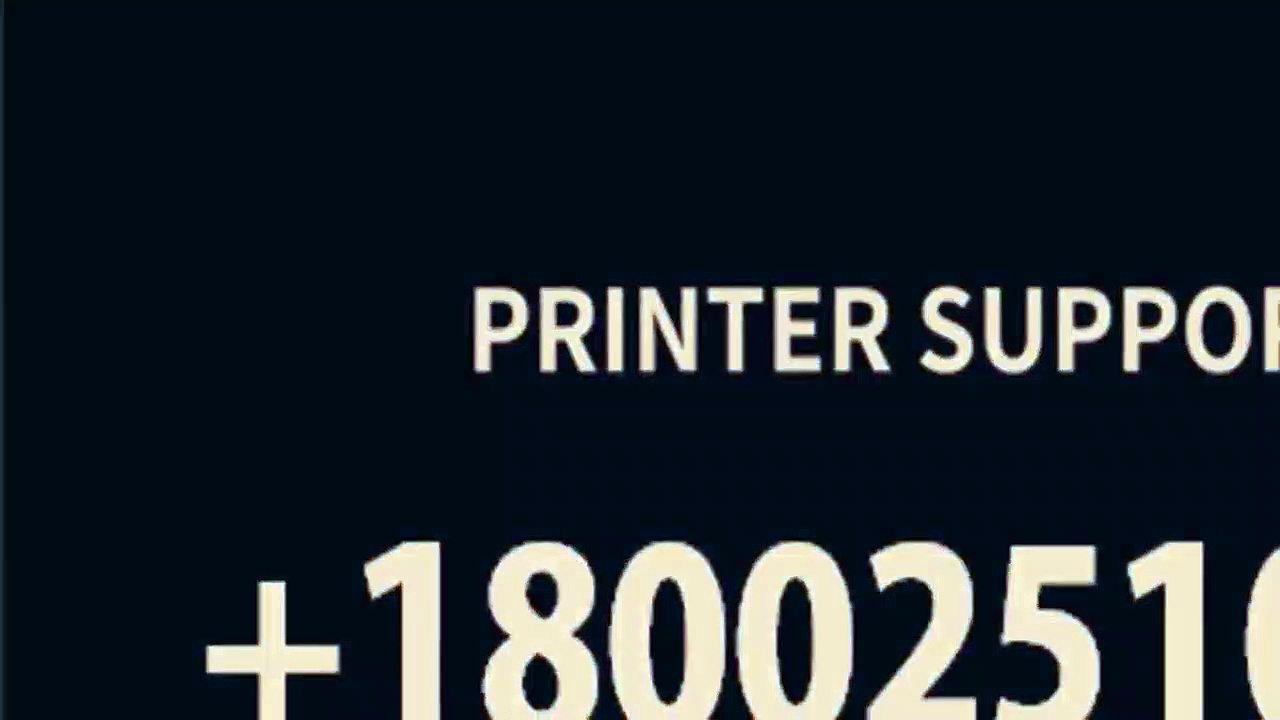 BROTHER PRINTER TECH SUPPORT PHONE NUMBER +18oo251O724