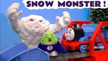 Snow Monster with Thomas and Friends and Funny Funlings Monster in the Tunnel where Super Funling tries to Rescue and discovers it's all a Prank by Rascal Funling in this family friendly full episode