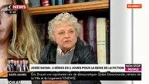 """La réalisatrice Josée Dayan réagit aux propos de l'actrice Corinne Masiero sur Emmanuel Macron: """"Je trouve ça nul"""" - VIDEO"""