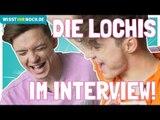 Die Lochis über ihre Kindheit: Die YouTube-Stars im Interview mit Wisst ihr noch!