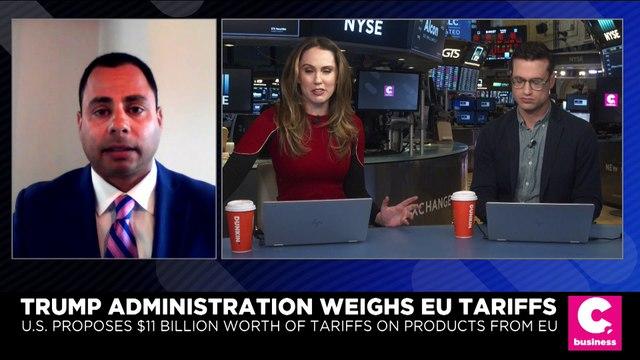 Trump Administration Weighs EU Tariffs