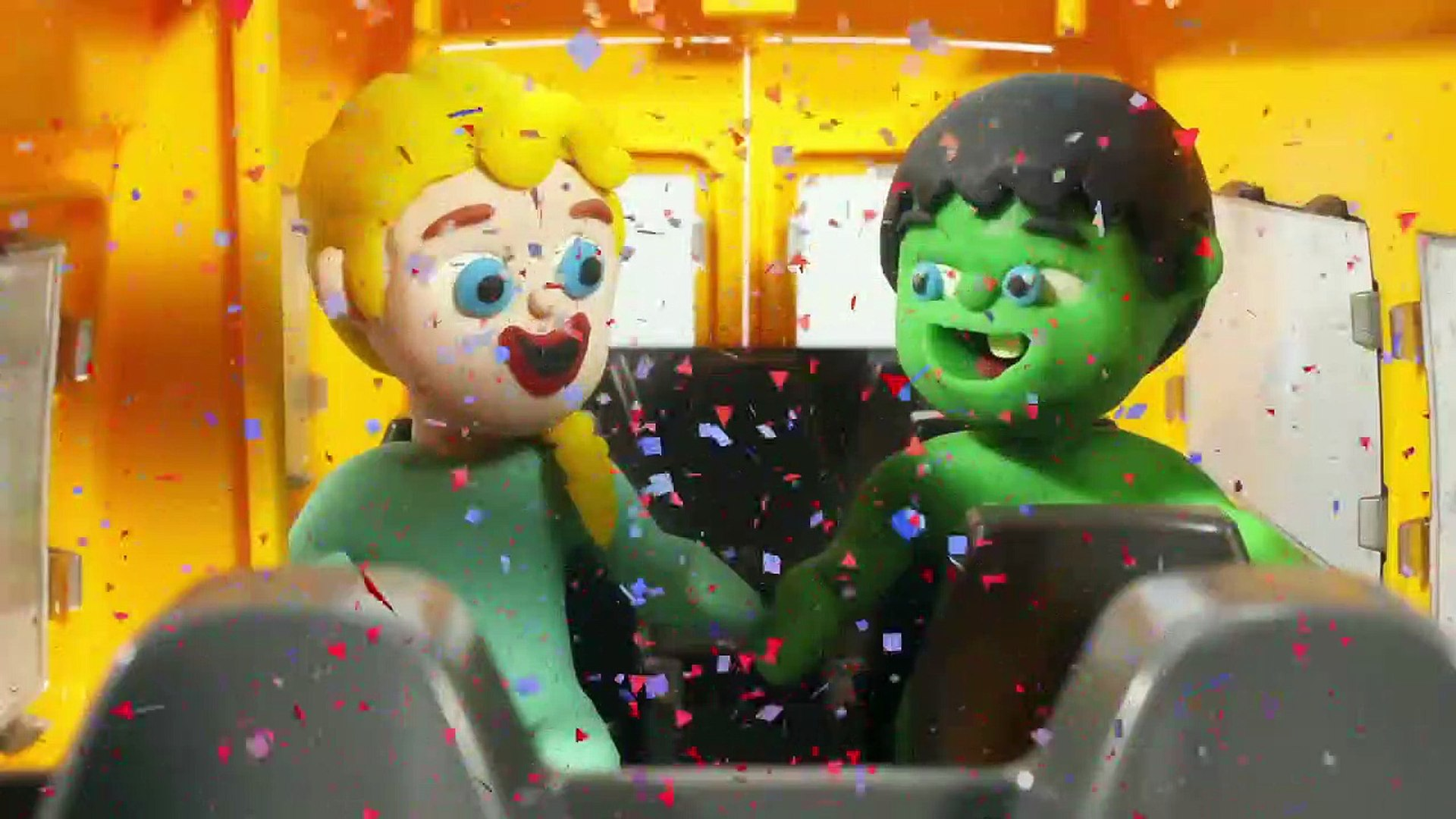 KIDS' COOKING CHALLENGE  PLAY DOH CARTOONS FOR KIDS