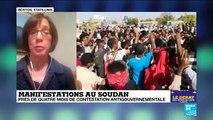 Manifestations au Soudan près de quatre mois de contestation antigouvernementale