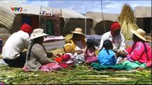 Cuộc sống trên mặt hồ ( titicaca ) của người URO- La vie de lac (titicaca) de l'URO-UROのレイクライフ(チチカカ)
