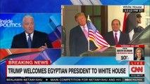 Donald Trump welcomes Egyptian President to White House. #Egypt #ElSisi #Breaking #DonaldTrump #WhiteHouse