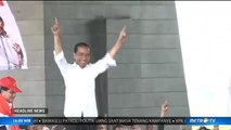 Jokowi Kenalkan Kartu Sakti ke Relawan Buruh se-Jabar
