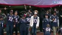 Rob Gronkowski, Patriots Throw Ceremonial Pitch At Red Sox Home Opener