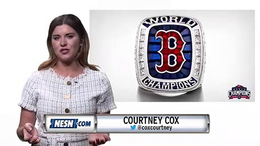 The 2018 Red Sox World Series Rings
