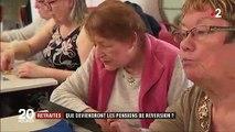 Retraites : que vont devenir les pensions de réversion ?
