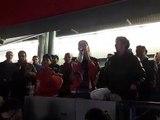 Ligue Magnus : le chant de la victoire des supporters grenoblois