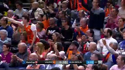 7Days EuroCup Highlights Finals, Game 1: Valencia 89-75 ALBA