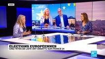 Débat France 24/RFI des têtes de listes aux européennes : les moments forts