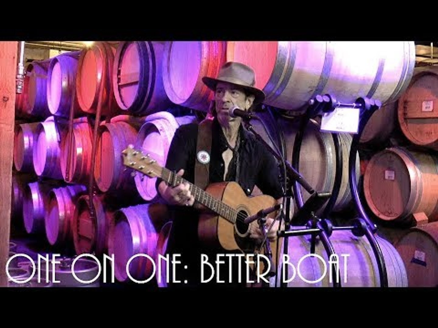 Cellar Sessions: Travis Meadows - Better Boat August 2nd, 2018 City Winery New York