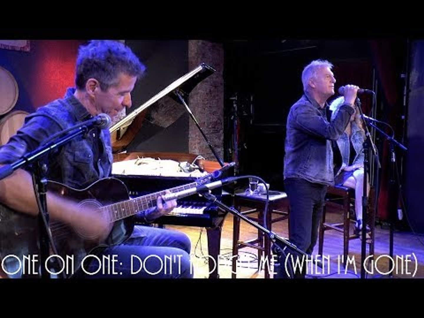 Cellar Sessions: Glass Tiger - Don't Forget Me (When I'm Gone) 8/31/18 City Winery New Yor