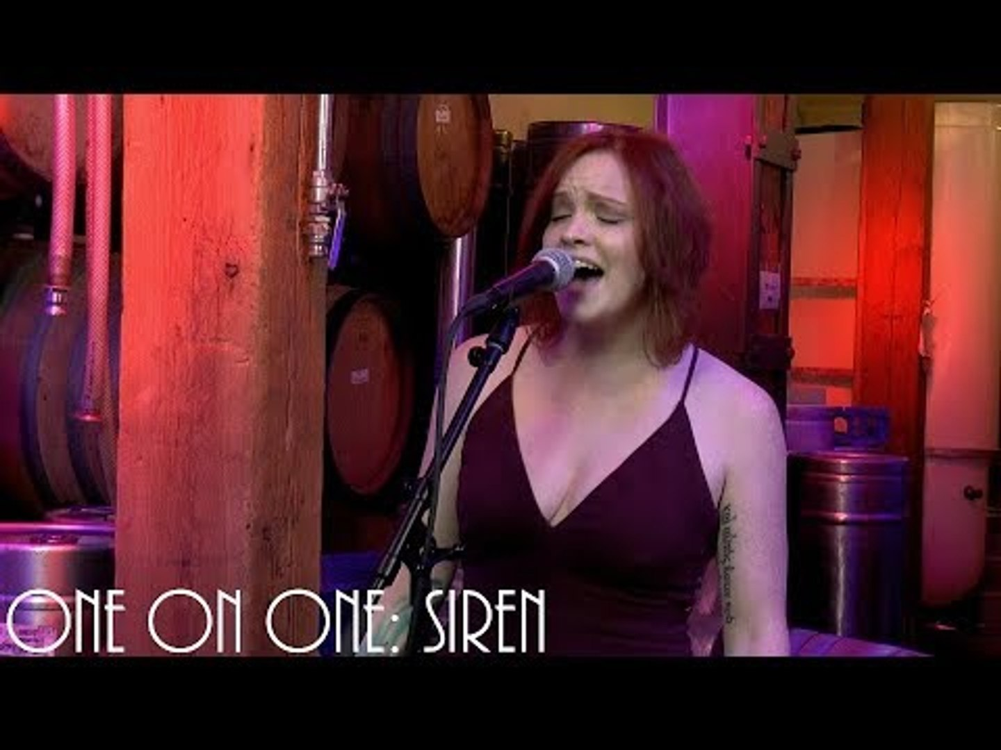 Cellar Sessions: Plastic Angels - Siren August 25th, 2018 City Winery New York