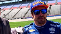 Fernando Alonso makes IndyCar test laps for McLaren Racing ahead of second run at Indianapolis