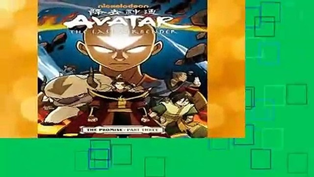 [MOST WISHED]  Avatar: The Last Airbender - The Promise Part 3 (Avatar: The Last Airbender Book