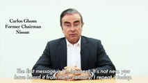 Ghosn accuses Nissan executives of 'backstabbing' over arrest