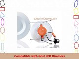 5  6 Dimmable LED Downlight Smooth Trim 1100 Lumens 4000K Cool White Recessed Retrofit