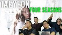 "TAEYEON loves you over ""4 SEASONS"" (MV Reaction) #QUEENTAEBAE"