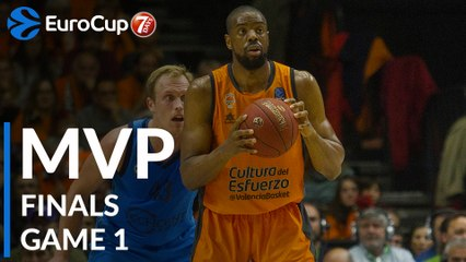Finals Game 1 MVP: Will Thomas, Valencia Basket