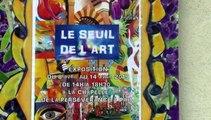 MICHOU W-D.D. AMATEUR D'ART - 9 AVRIL 2019 - PAU - VERNISSAGE DE L'EXPOSITION DU SEUIL DE L'ART À LA CHAPELLE DE LA PERSÉVÉRANCE