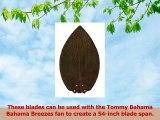 Emerson Ceiling Fans TB540DM Tommy Bahama Blades Ceiling Fan Blades Dark Mahogany Indoor