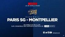 Paris/Montpellier en clair sur tous les supports digitaux de beIN SPORTS samedi 20 avril à 19h