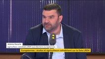 """Européennes : le syndicaliste agricole Jérémy Decerle, candidat LREM, """"pour faire de la politique un peu différemment"""""""